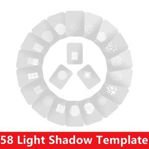 Image 1 - 82 Phong Cách Ngưng Tụ Ống Chiếu Đồ Họa DIY Đèn Ống Hình Lắp OT1 OT1PRO Ngưng Tụ Ống Kính Nền Hiệu Ứng Ánh Sáng Phim