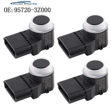 купить 4 PCS Black Color PDC Parking Sensor For Hyundai i40 95720-3Z000 957203Z000 4MT006KCB 4MT006HCD 95720-2P500 957202P500 по цене 1860.15 рублей