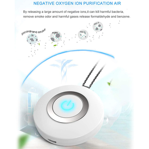 Image 4 - USB Portable Wearable Air Purifier, Personal Mini Air Necklace Negative Ion Air Freshener   No Radiation Low Noise for Adults