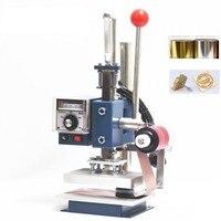 Heißfolienprägung Maschine Folie Drucker mit Folie Halter + Folie rolle + Kupfer Formenbau