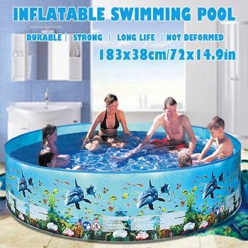 piscina 72 inch home Children's swimming pool Blow Up Pool piscinas grandes para familia 2020 бассейн каркасный piscinas NEW Z4 intex бассейн каркасный ultra frame pool