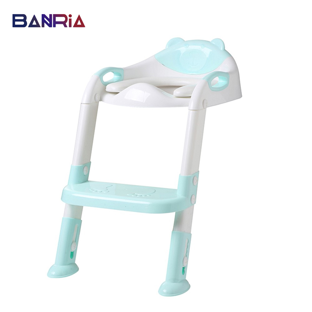For Kids Toilet Baby Potty Training Seat Potty Seat With Ladder Adjustable Toddler Step Trainer Non Slip Safety Baby Toilet