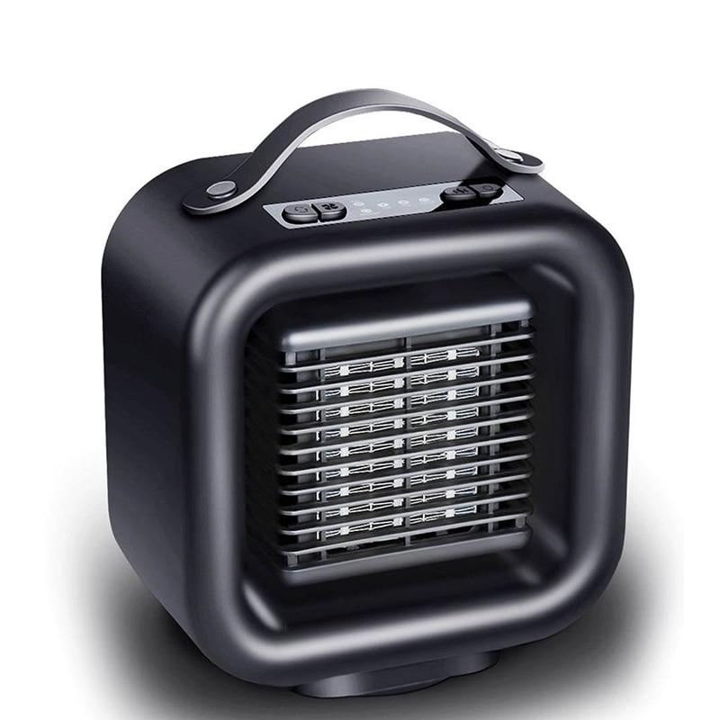 1000W chauffage électrique Mini chauffage de l'espace personnel chauffage électrique hiver ventilateur EU Plug bureau chauffage électrique maison bureau