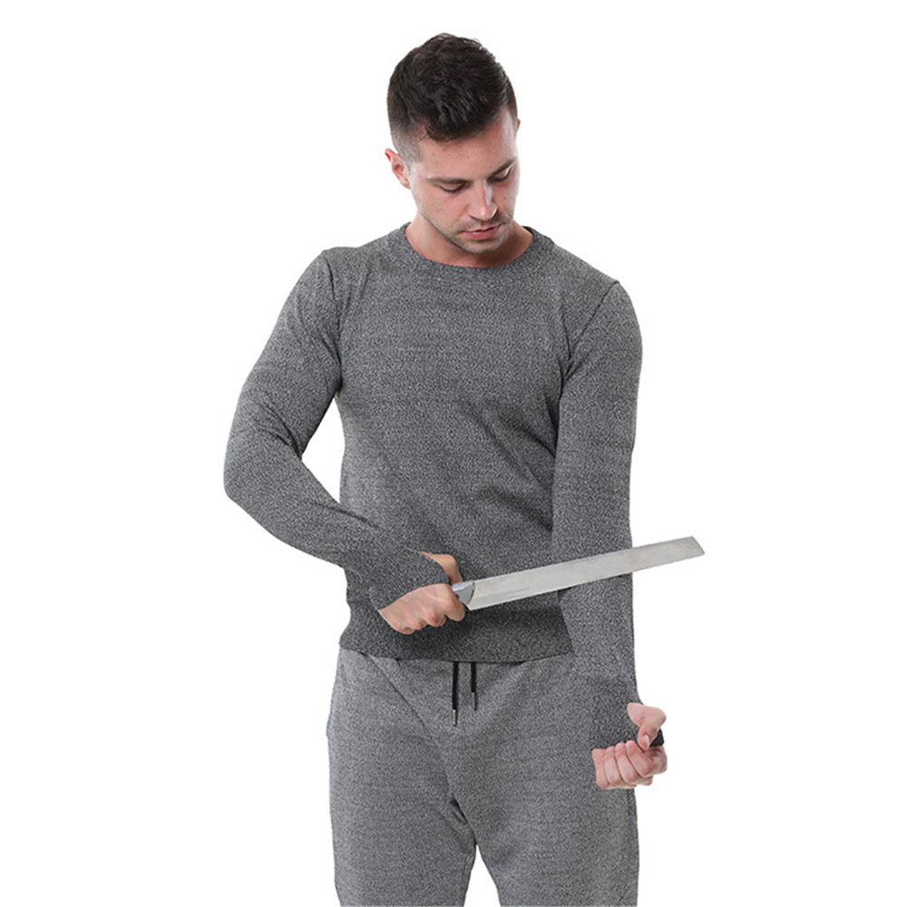 Cut-proof Clothing Security Jacket Special Clothing Working Anti Stab T-shirt Guard Security Clothes Tops For Self Defense