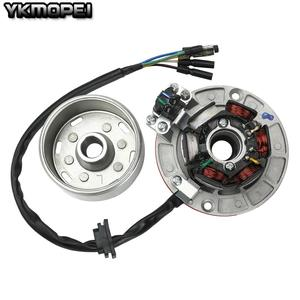 YX 12V AC Ignition Magneto Stator Flywheel kit With Light For Yinxiang 140cc 150cc 160cc  KAYO BSE SDG SSR Pitsterpro Dirt Bike