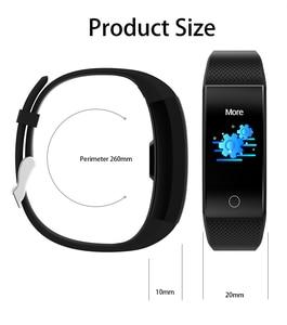 Image 3 - QW18T Smart Bracelet Measure Body Temperature Heart Rate Blood Pressure Bluetooth Sports Information Reminder Smart watch