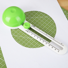 Круглый режущий нож лоскутный Компас Круглый резак Скрапбукинг карты резаки Простой нож для резки бумаги
