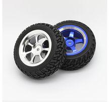 Metal wheel 75mm tire intelligent car robot tire aluminum alloy wheel DIY model toy rubber wheel +Coupling
