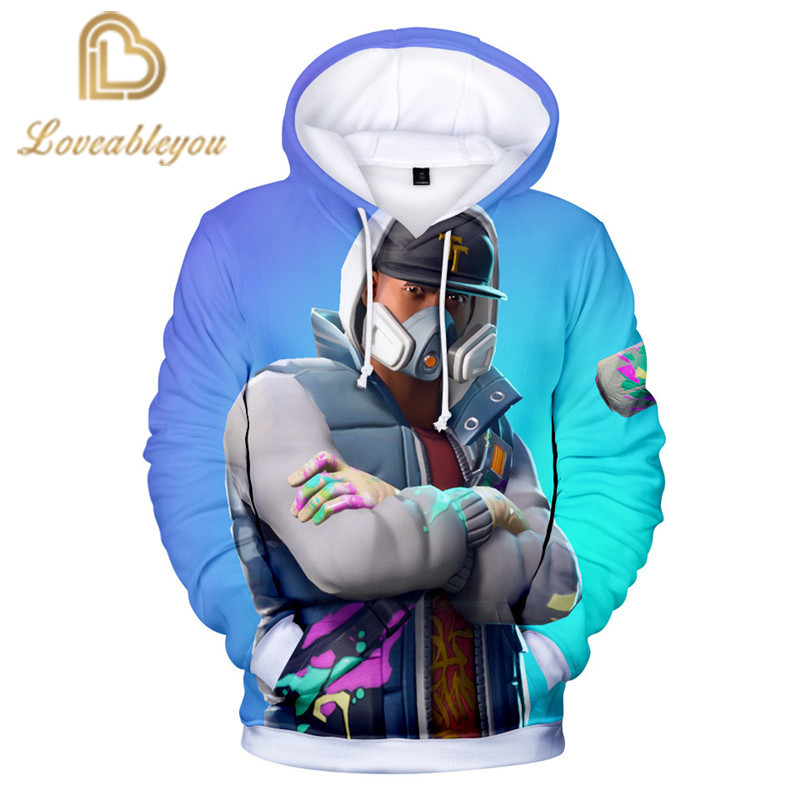 Childrens Tops 2019 Anime Gaming Heroes Hoodie Unisex 3D Print Hooded Harajuku Streetwear Hoodies Cosplay Men Sweatshirt