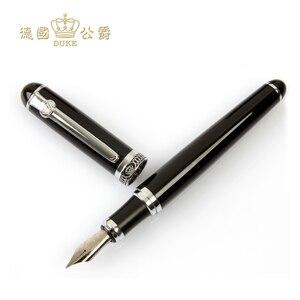 Image 5 - عالية الجودة ديوك D2 قلم الكرات الدوّارة + قلم حبر متوسط فاخر 0.5 مللي متر الكتابة الأعمال هدية أقلام المكتب والمدرسة القرطاسية