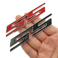 1 шт., 3D Автомобильная зернистость, красный логотип SS, зернистость для Cruze Aveo Silverado Малибу каптива, Camaro, автомобильный Стайлинг
