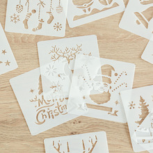 Drawing-Board 12-Kinds-Style Elk Educational-Tools Theme Painted Merry-Christma Children's