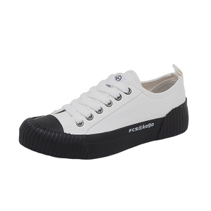Image 5 - Fashion Shoes Women Canvas Womens Vulcanize Shoes New Flat Trend Fashion Comfortable Deodorant Sneakers Shoes Women Sneakers