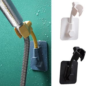 Adjustable Shower Head Holder Self Adhesive Shower Bracket Base Bathroom Wall Rack Shower Head Handset Bathroom Accessories
