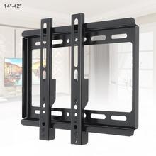 Universal 25KG Adjustable TV Wall Mount Bracket Flat Panel TV Frame with Level Instrument for 14 ~ 42 Inch HDTV Flat Panel TV