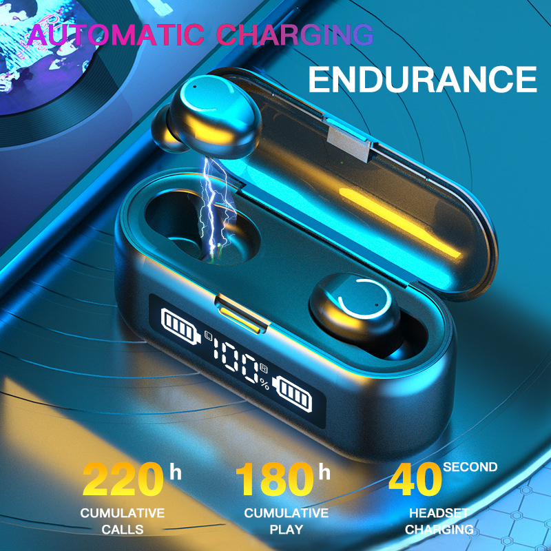 lowest price Tiso i6 dual mode wireless earphones touch control seamless Bluetooth 5 0 headphone noise cancelling Mic 3D TWS stereo headset