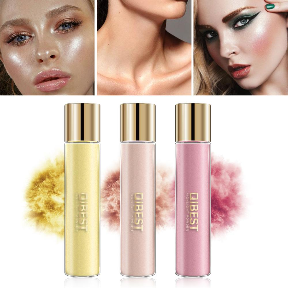 1pcs Professional 17 Colors Makeup Glitter Powder Highlight Powder Pearl Metallic High Gloss Powder Women Makeup Cosmetic image