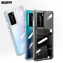 ESR Case for HUAWEI P40 P40 Pro Ultra Crystal Clear Cover Ultra Thin Transparent Phone Case Shockproof for Huawei Airbag Case