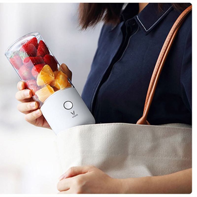 Xiaomi Viomi 350ml Portable Electric Juicer Blender Multipurpose Wireless Mini USB Rechargable Juice Cup Cut Mixer For Travel