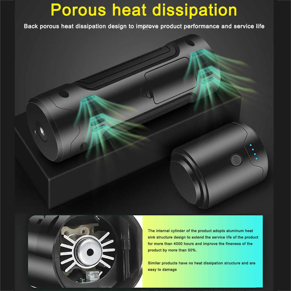 Bomba de aire del neumático del coche de la potencia del inflador eléctrico de portátil de la bomba de aire de la pantalla Digital del Lcd para la bomba de aire del neumático del coche para auto de la motocicleta bicic