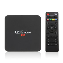 Dispositivo de TV inteligente Q96, decodificador con Android 8,1, RK3229, cuatro núcleos, UHD, 4K, reproductor multimedia, 1GB/8GB, WiFi 2,4G, H.265, VP9, HDR10, Control remoto, reproductor de vídeo