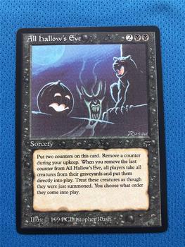 Todas las LGD de Eve de Hallow alargan el ProxyKing de mago 8,0 VIP las tarjetas proxy para recoger cada tarjeta de mg.