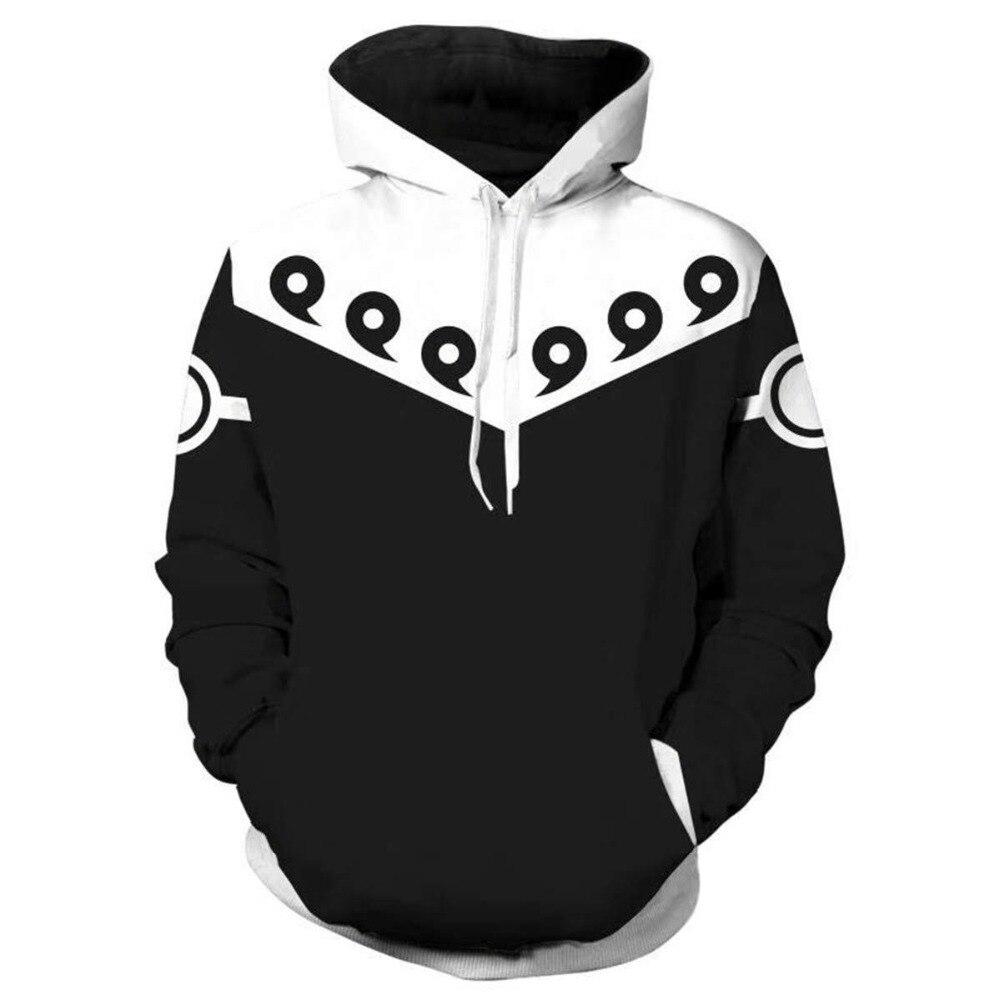 2019 New Hot 3D Naruto Harajuku Hoodie Brand Sweatshirt Men Funny Anime Casual Men Women Hoodies Fashion Streetwear Mens Clothes