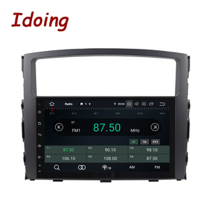 Image 2 - Idoing Android 9,0 4G + 64G Octa Core 2 din Für MITSUBISHI PAJERO V97 2006 2014 Auto multimedia Radio Player HDP GPS + Glonass keine dvd