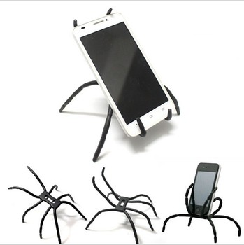 Spider Universal Flexible Grip Holder Stand Mount for iPhone 7 8 X Samsung HTC Xiaomi Huawei Phone Adjustable Grip Car Desk image