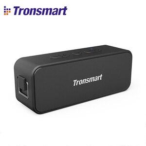 Image 1 - Yeni 2020 orijinal Tronsmart T2 artı Bluetooth 5.0 hoparlör 24H sütun 20W taşınabilir hoparlör IPX7 ses çubuğu TWS ses asistanı