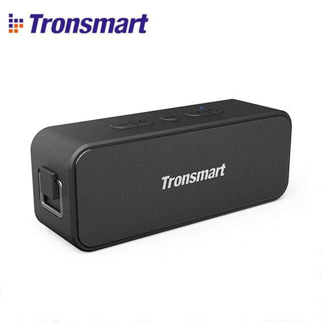 Yeni 2020 orijinal Tronsmart T2 artı Bluetooth 5.0 hoparlör 24H sütun 20W taşınabilir hoparlör IPX7 ses çubuğu TWS ses asistanı