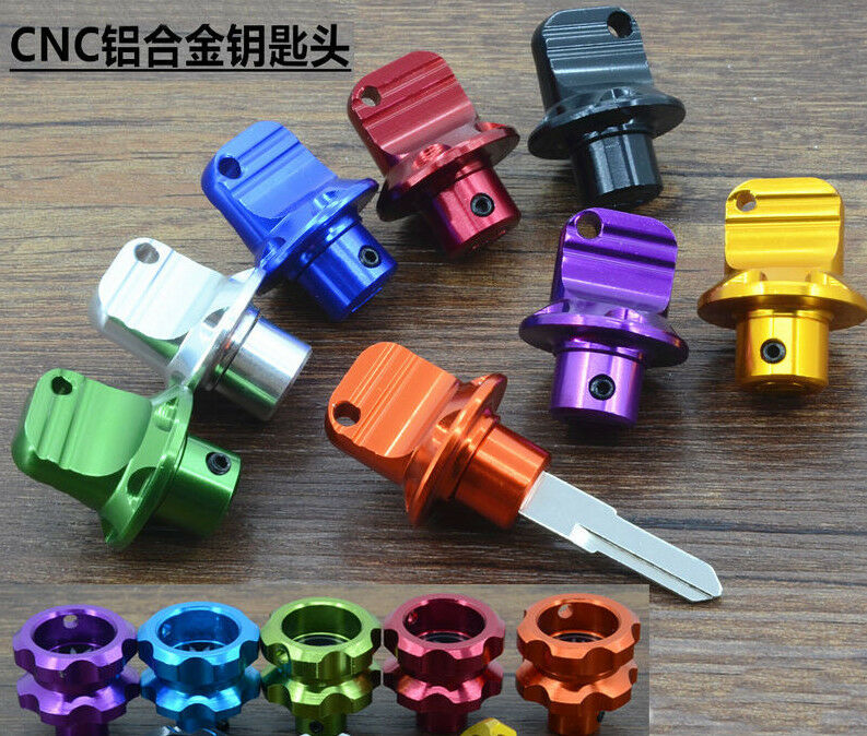 General Modified Motorcycle Scooter Moped CNC Aluminum alloy Key Head Ring Chain