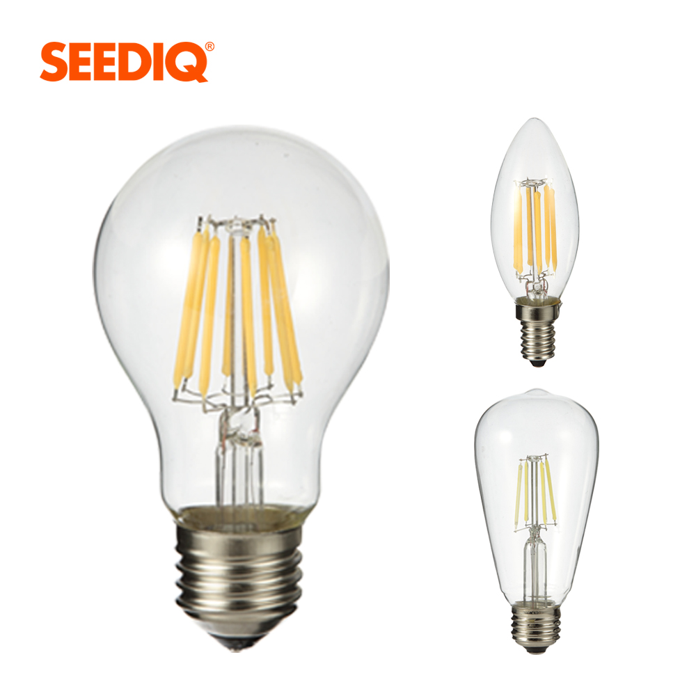 Led Bulb 220V 2W 4W 6W 8W Retro Edison Filament Light Bulb E27 Led Dimmable Lamp A60 ST64 C35 E14 Led Candle For Indoor Lighting