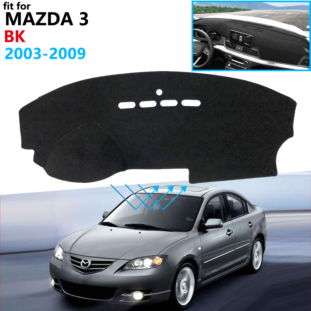 Dashboard Cover Protective Pad for Mazda 3 BK 2003 2004 2005 2006 2007 2008 2009 MK1 Car Accessories Dash Board Sunshade Carpet
