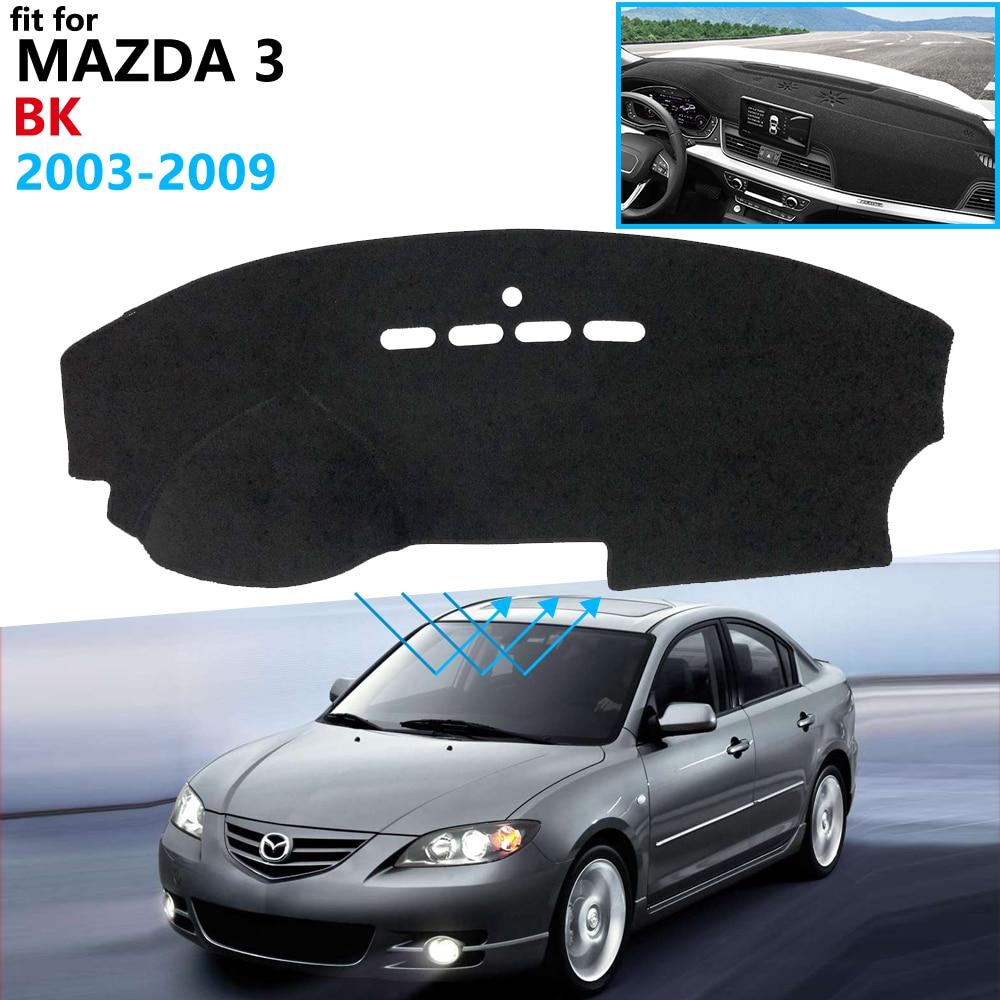 Dashboard Cover Protective Pad For Mazda 3 BK 2003 2004 2005 2006 2007 2008 2009 MK1 Car Accessories Dash Board Sunshade Carpet