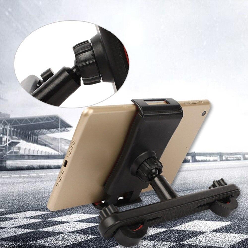 Универсальное автомобильное крепление на сиденье, телескопический держатель для планшета, кронштейн, зажим, стойка для iPad, для автомобиля, ...