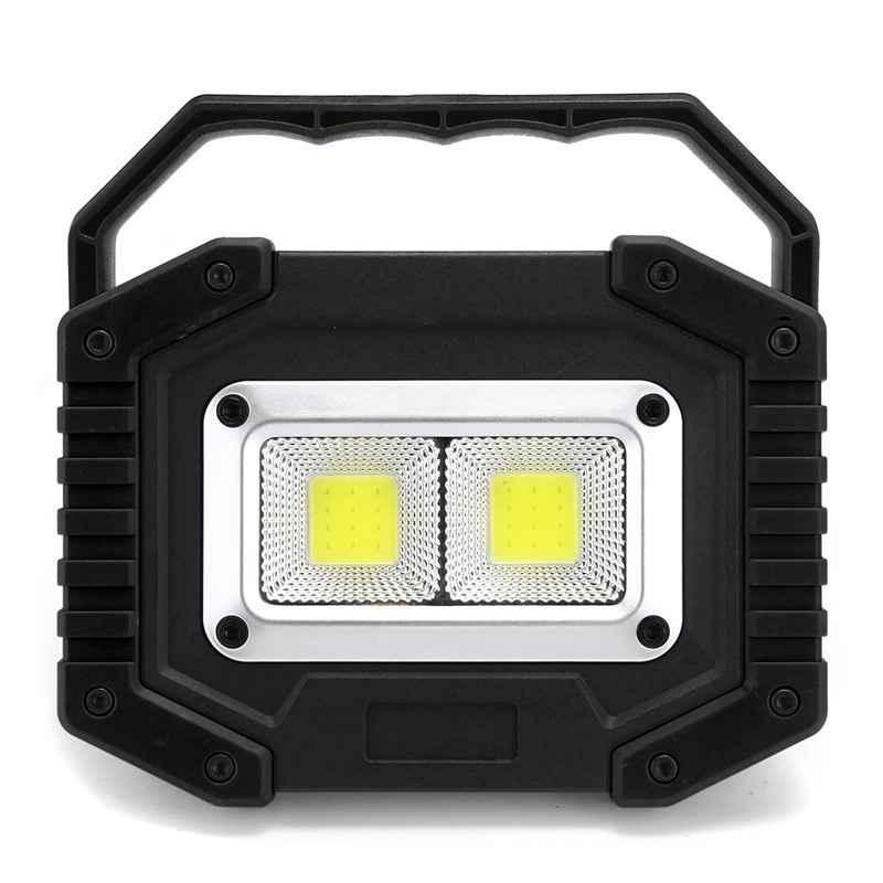 350W Emergency Flood Lamp LED COB Work Light Floodlight USB Rechargeable  /'/'*