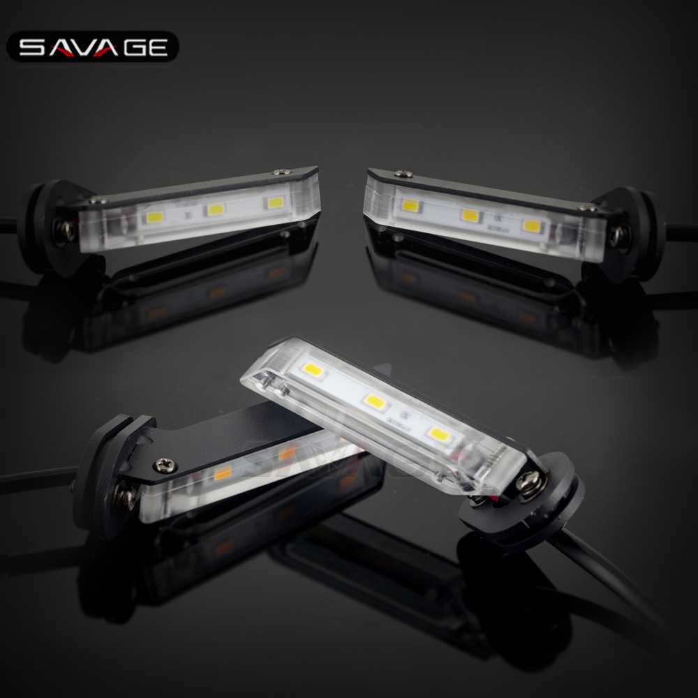 Invisible Wing LED Turn Signal Light For YAMAHA MT07 FZ07 FZ09 FJ-09 MT09/Tracer 900/GT XSR700 XSR900 Motorcycle Indicator Lamp