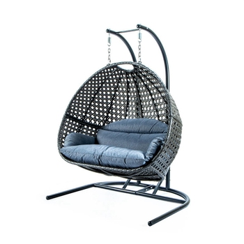 Thickened Balcony Egg Nest Chair Pad Double Hanging Hammock Chair Cushion Basket Swing Seat Mat For Patio Backyard Lawn