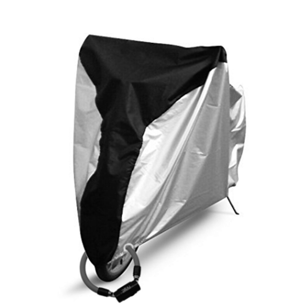 Bicycle Bike Cover Waterproof Snow Cover Rain Protector Dust Protector With Lockhole For Mountain Road Bike