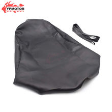 CB 1300 Motorcycle PU Leather Black Seat Cover Guard Cushion Protection Waterproof For Honda CB1300(China)