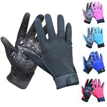Men's Summer Gloves Mittens Breathable Sunscreen Riding