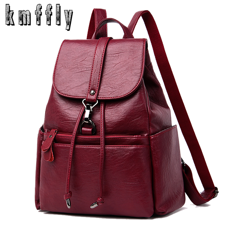 Travel Backpack Mochilas Shoulder-Bag Teenage-Girls Women for Lady High-Capacity New