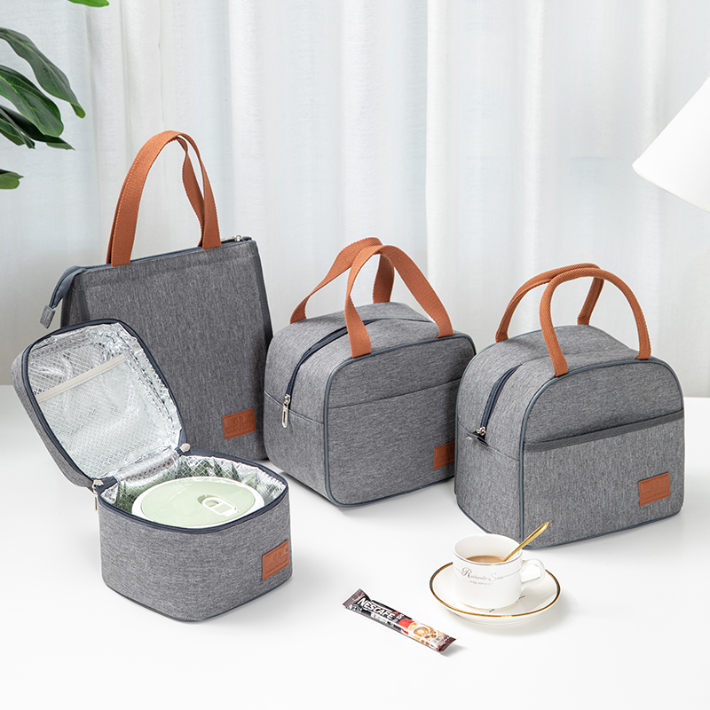 Tote Family Travel Picnic Drink Fruit Food Fresh Thermal Insulated Women Men Cooler Bento Lunch Box Bag