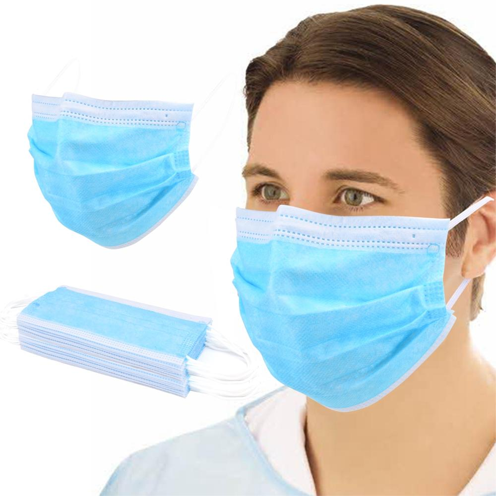 Safe Mask For Family Anti-Dust Disposable Mask Earloop Face Masks Non-woven Dust Protective Mouth Mask