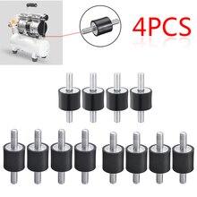 4 Pz/set M5/M6/M8 Supporti In Acciaio di Gomma Anti Vibrazione Shock Damper per Compressori Daria Pompa Ad Acqua di Saldatura macchina