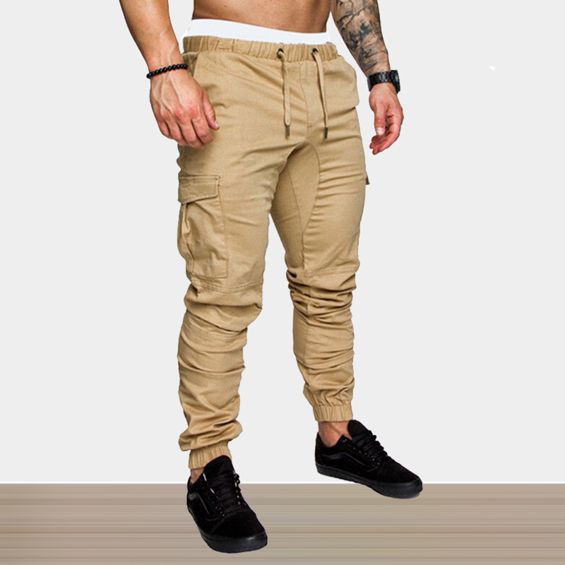 Cargo Pants Men Brand Joggers Work Breathable Men Pants Casual Army Khaki Black Autumn Slim Fit Military Tactical Trousers Male