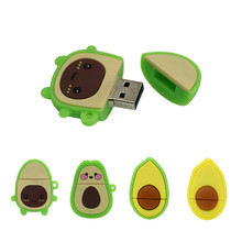 Avocado-Stick 64GB Personalisierte Stift stick 4 8 32 128 16 256 gb cle usb Flash Drive Memory Stick schöne Mini 8GB 256 GB U Disk