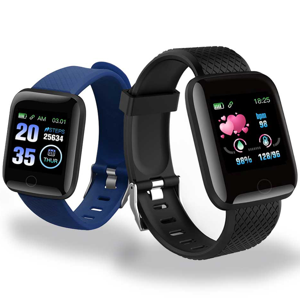 Digital Smart Watches Waterproof Sports For Iphone Phone Smartwatch Heart Rate Monitor Blood Pressure Function For Women Men Kid