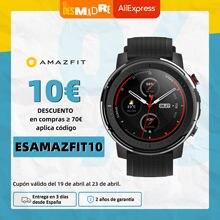 Stokta küresel sürüm yeni Amazfit Stratos 3 akıllı saat GPS 5ATM Bluetooth müzik çift modlu 14 gün Smartwatch Android için 2019